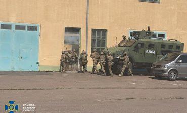 В Измаиле СБУ, пограничники и военные боролись с диверсантами (фото)