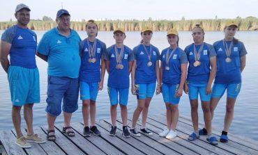 Вилковские гребцы завоевали 15 медалей на всеукраинских соревнованиях