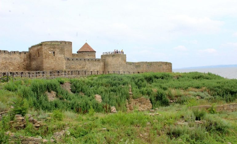 Аккерманская крепость продолжает разрушаться