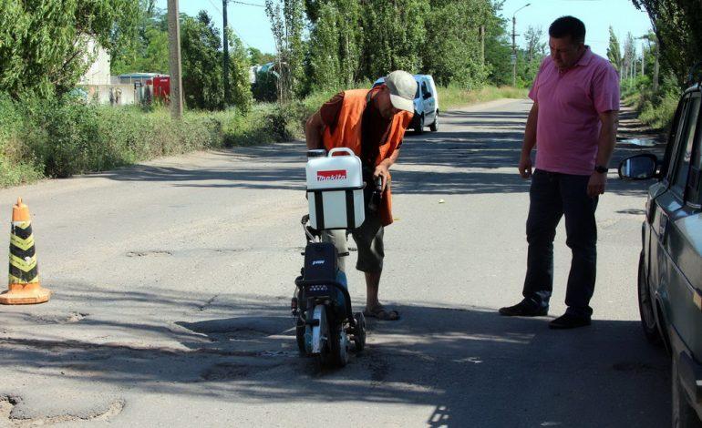 У дорожников Белгорода-Днестровского жаркое лето