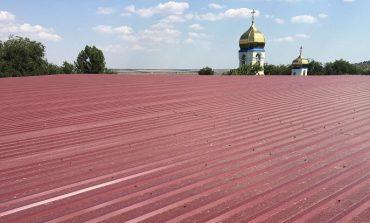 В одной из громад  Болградского района ремонтируют крышу и водопровод, укладывают тротуар (фото)
