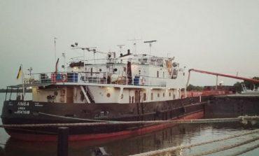Из портопункта «Килия» вышло первое судно с зерном нового урожая