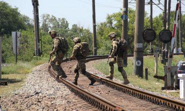 Морпехи взяли контроль над мостом в Бессарабию - военные учения (фото)