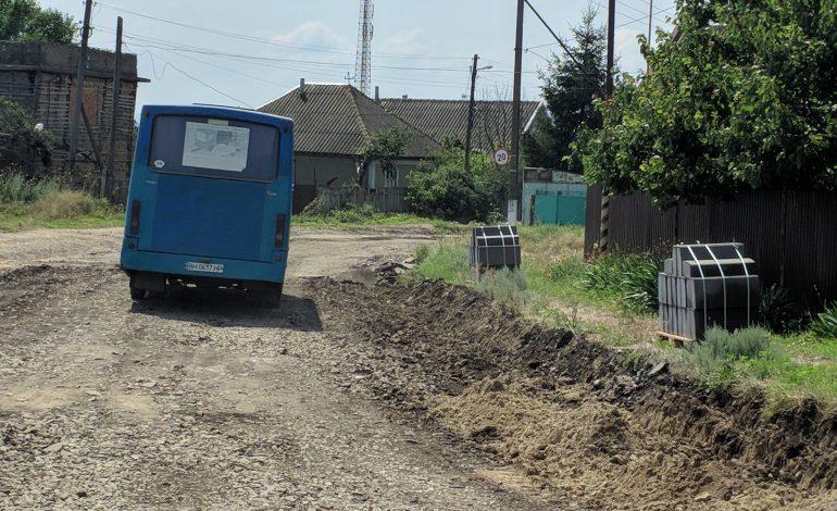 В Рени начался долгожданный ремонт старой объездной дороги