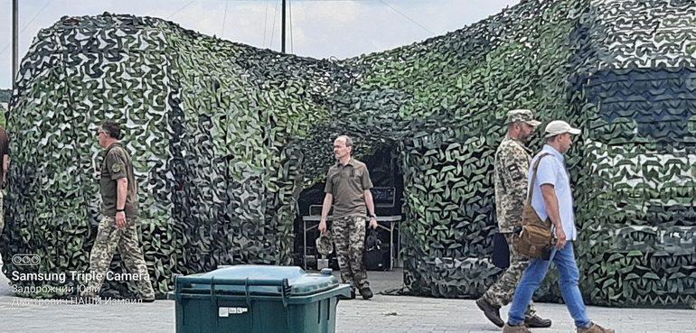 В Измаиле военные развернули временный противодиверсионный лагерь (фото)