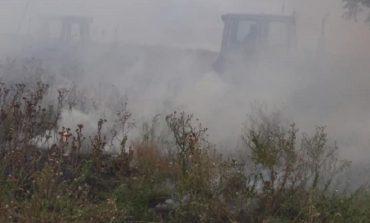 В Измаильском районе жители села своими силами предотвратили пожар