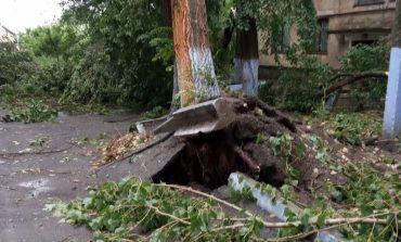Населенные пункты Тарутинской громады пострадали от урагана (фото)