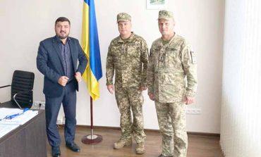 В Болграде представили нового военкома