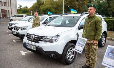 Пограничники Одесской области получили новую технику (фото)