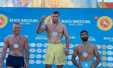 Уроженец Тарутино поборется за звание чемпиона мира по пляжной борьбе