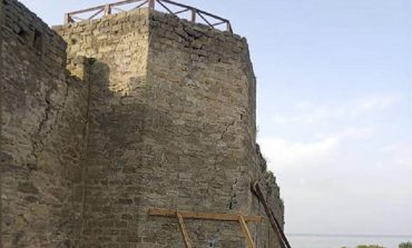 Когда восстановят аварийную башню в Аккерманской крепости