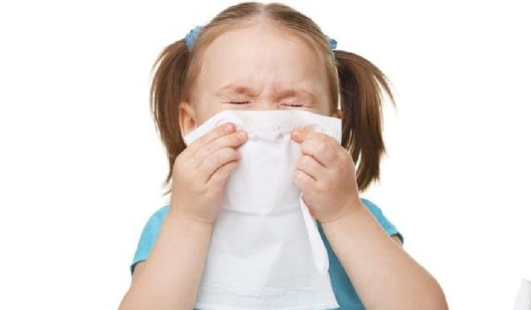 В Одесской области дети стали болеть гриппом и ОРВИ в два раза чаще