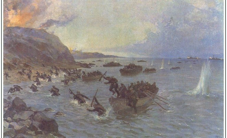 80 лет Григорьевскому десанту, одной из первых удачных наступательных операций начала войны