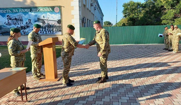 В Измаильском погранотряде резервисты прошли курс военной подготовки (фото)