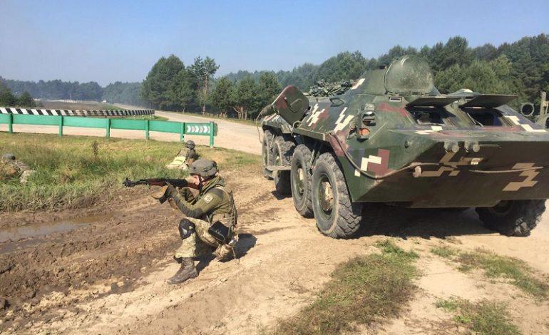Спецназовцы Измаильского отряда приняли участие в ротных тактических учениях (фото)