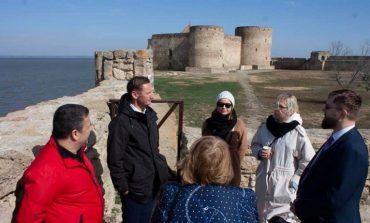 Польская делегация посетила Аккерманскую крепость и Шабо