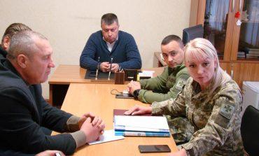 Начальник отдела «Рени» ГПСУ провёл совещание с местными депутатами по вопросам пограничного режима