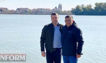 Килию посетил мэр румынской Килии-Веке