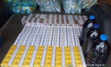 В Болградском районе местный житель прятал в авто безакцизные сигареты и спирт