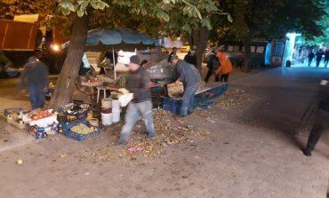 В Одессе снесли стихийный рынок на Таирова